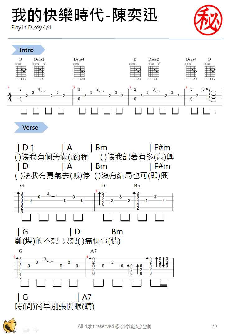 Guitar chords love