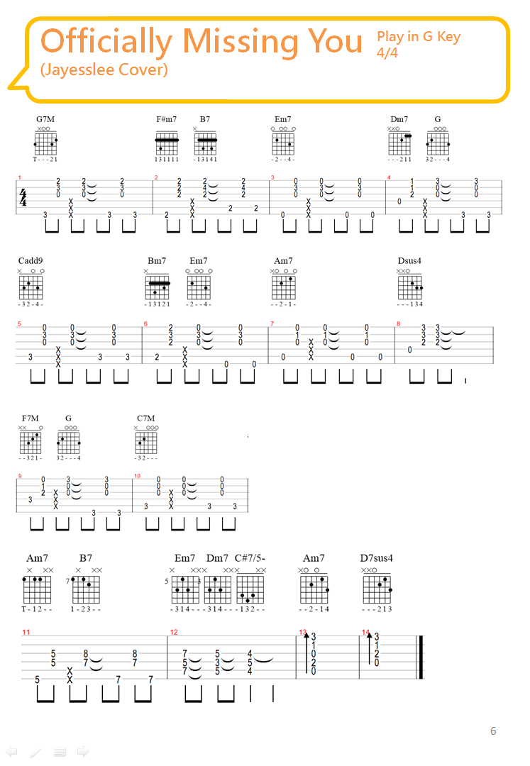 Officially missing you guitar chord chord hexwebz Image collections